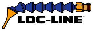 Loc-Line logo hvítt